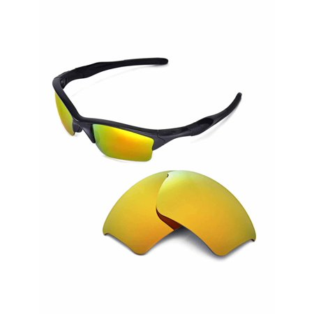 8ca5176d31 Walleva - Walleva 24K Gold Polarized Replacement Lenses for Oakley Half  Jacket 2.0 XL Sunglasses - Walmart.com