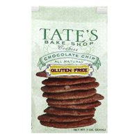 TATES COOKIE CHOCOLATE CHIP GLUTEN FREE, 7 OZ (Pack of 6)