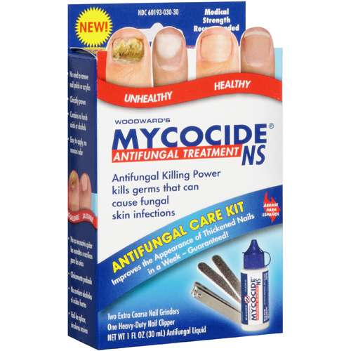 Mycocide Ns: w/Patented Penetrating Delivery System & The Soothing Allantoin Difference Antifungal Treatment Care Kit, 1 Fl Oz