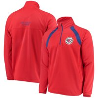 LA Clippers G-III Sports by Carl Banks High Impact Quarter-Zip Pullover Jacket - Red