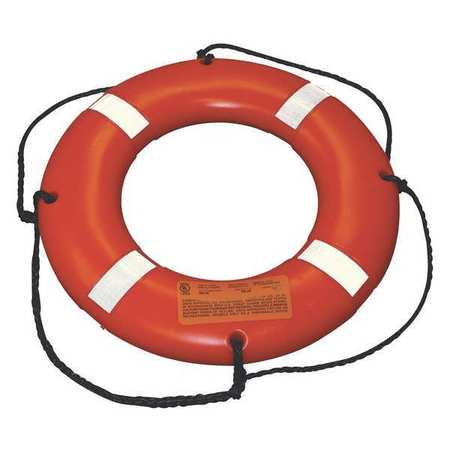 STEARNS I024ORG-00-000 Survival Ring Buoy,24