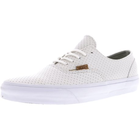 Era Decon + Leather Emboss Blanc De Ankle-High Skateboarding Shoe - 10.5M/9M