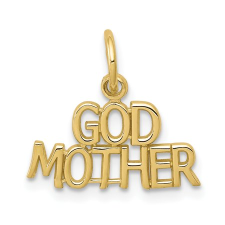 10K Yellow Gold GODMOTHER CHARM - image 1 of 2