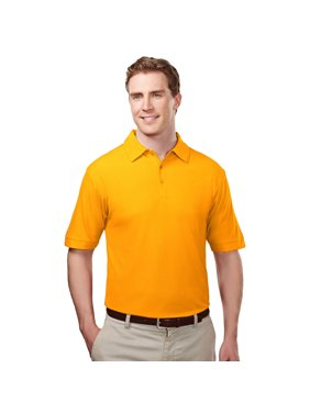 Tri-Mountain Men's Big And Tall Waffle Knit Golf Shirt