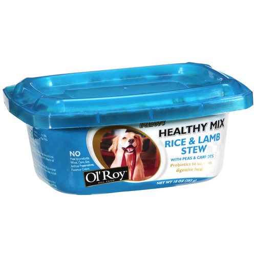 Ol' Roy Healthy Mix Rice & Lamb Stew Dog Food, 10 oz