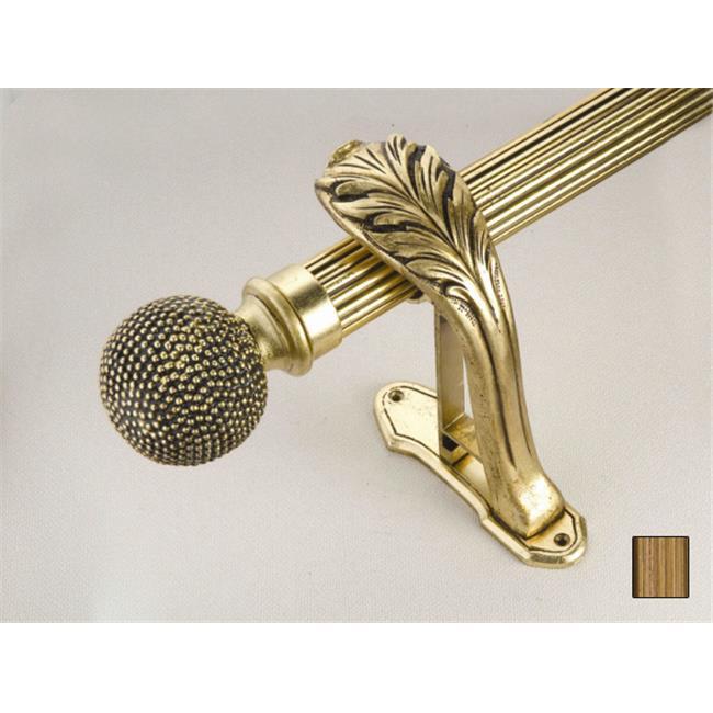 WinarT USA 8. 1068. 30. 30. 320 Palas 1068 Curtain Rod Set - 1. 25 inch - 126 inch