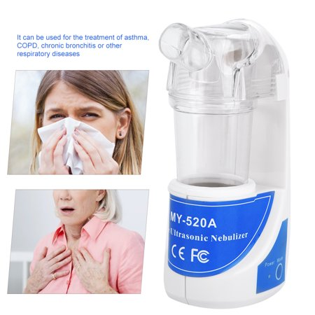 Elite Compressor Nebulizer - Portable Ultrasonic Nebulizer Atomizer Beauty Instrument Spray Steamer Humidifier, Portable Nebulizer, Humidifier