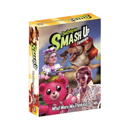 Alderac Entertainment Group (AEG) Smash Up: What Were We Thinking Expansion Card Game - Group Halloween Games