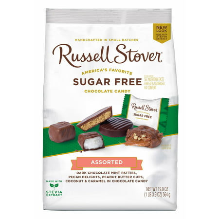 Russell Stover Easter - Russel Stover Sugar Free Chocolate Assorted - 19.9 oz