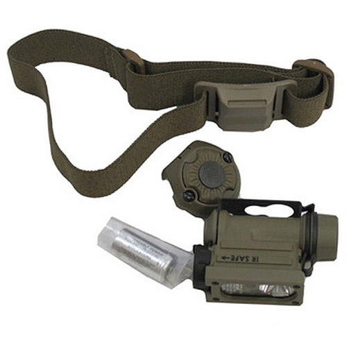 Streamlight Sidewinder Compact II with CR123A Battery, Light and Head Strap, Clam Pack by Streamlight