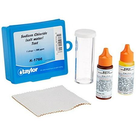 taylor technologies inc k-1766 drop test chloride salt (Best Test Kit For Saltwater Pool)