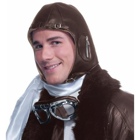 Aviator Brown Hat](Brown Aviator Hat)