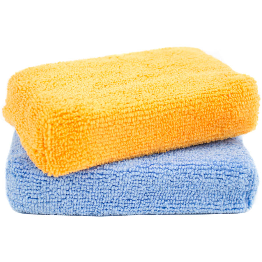 Zwipes Microfiber Soft Kitchen Cleaning Dish Sponges, 2 count