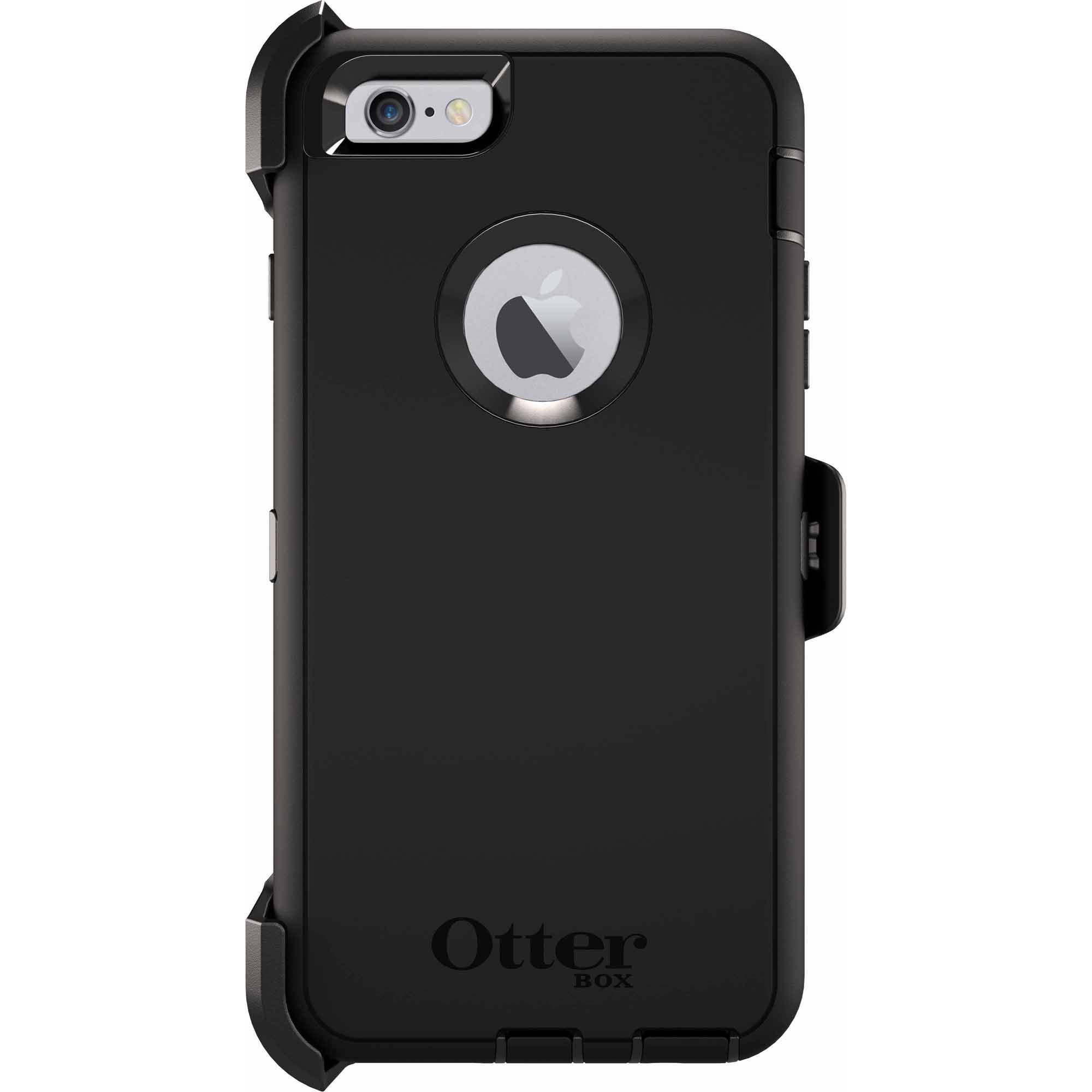 various colors 0d76c c27cc iPhone 6 plus/6s plus Otterbox defender case, Black - Walmart.com