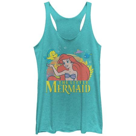 The Little Mermaid Women's Ariel Classic Racerback Tank Top