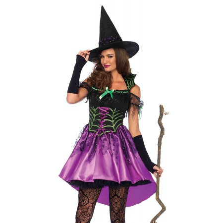 Leg Avenue Women's Spiderweb Witch Costume - Witch Legs