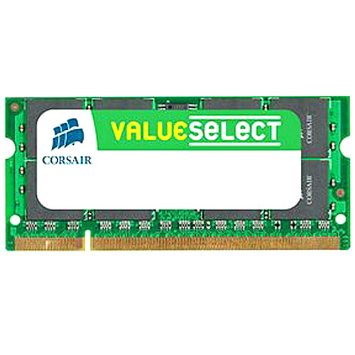 Corsair 4GB (2x2GB) DDR2 667MHz Non-ECC 200-pin SoDIMM Memory Kit