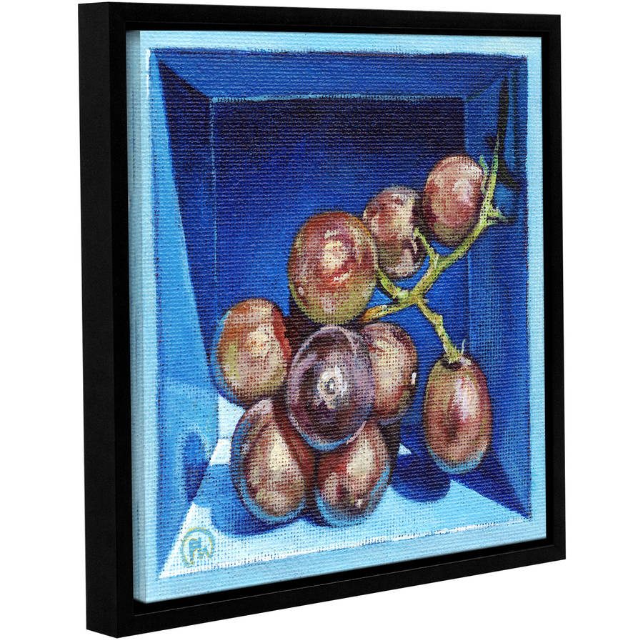 "ArtWall Paige Wallis ""Boxed Bunch"" Gallery-wrapped Floater-framed Canvas"