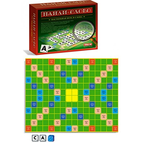 Board Game, Find the Word (Scrabble) (Logos), Naydi Slovo by