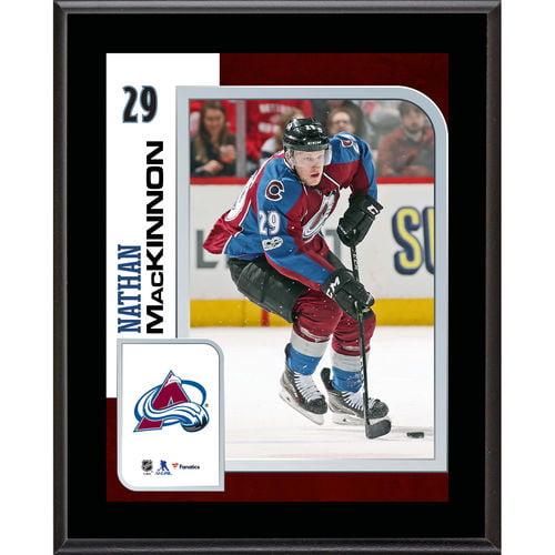 "Nathan MacKinnon Colorado Avalanche 10.5"" x 13"" Sublimated Player Plaque - No Size"