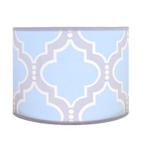 Pam Grace Creations Blue Trellis Lamp Shade by Pam Grace Creations