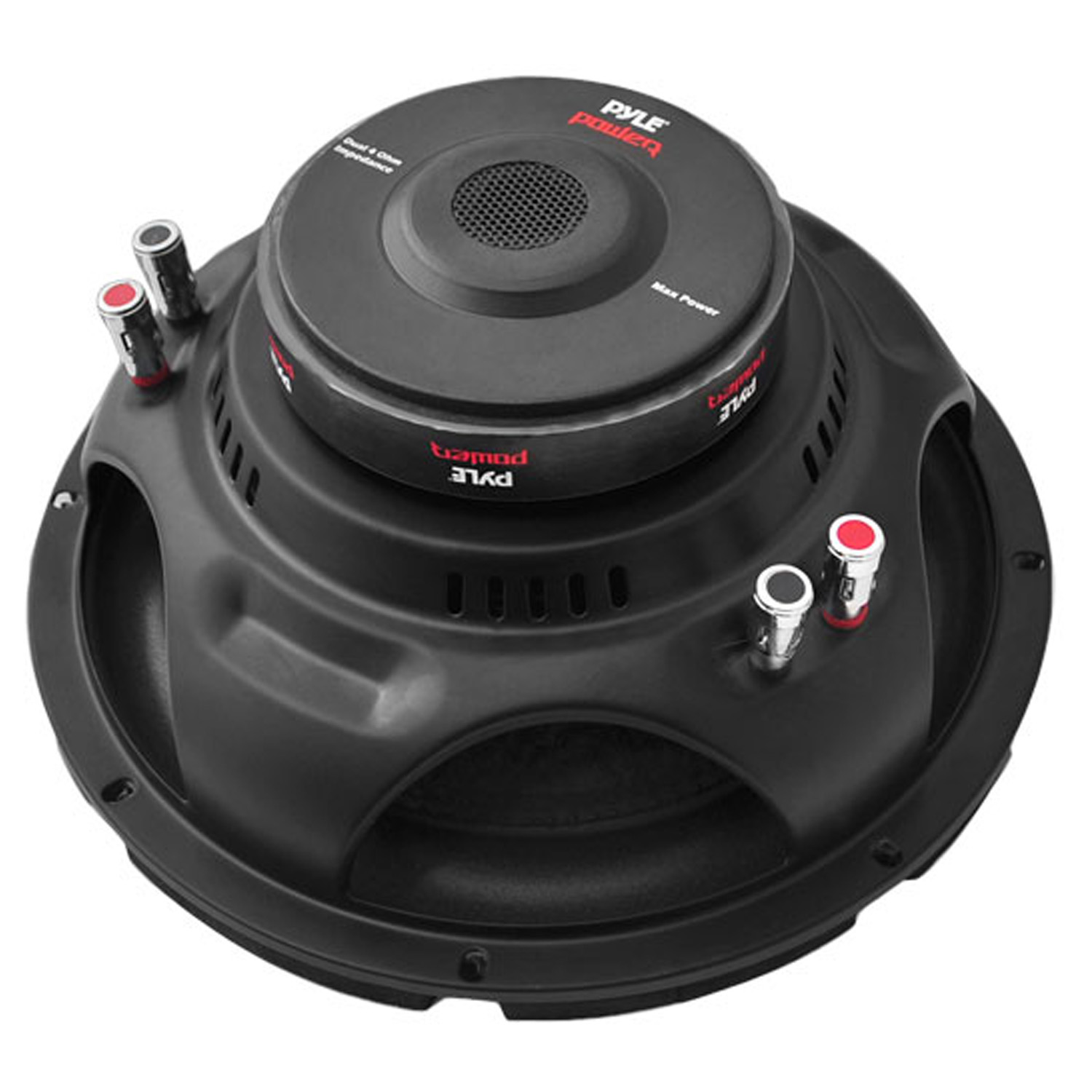 PYLE PLPW8D - Car Subwoofer Audio Speaker - 8in Non-Pressed Paper Cone, Black Steel Basket, Dual Voice Coil 4 Ohm Impedance, 800 Watt Power and Foam Surround for Vehicle Stereo Sound System