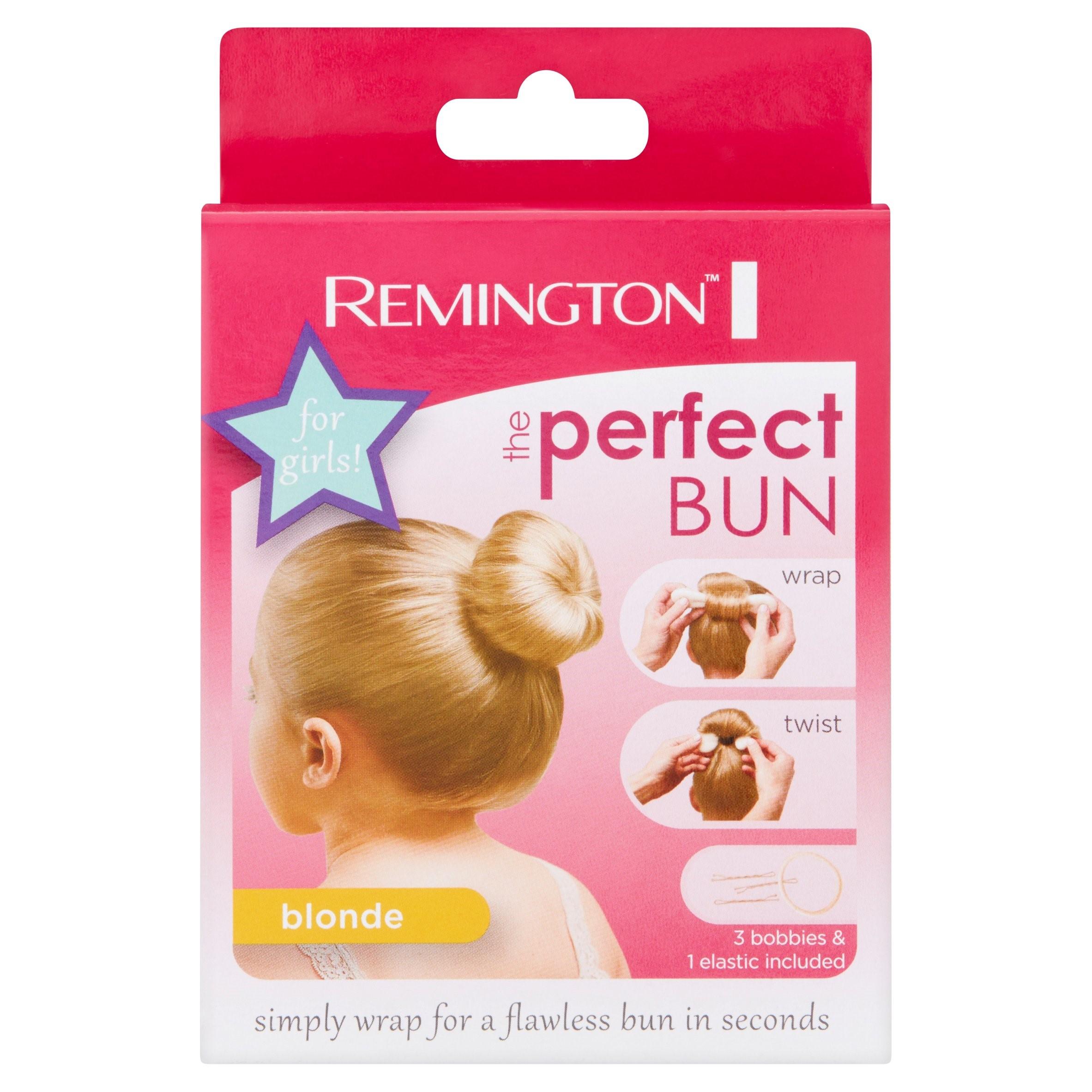 Remington the Perfect Bun for Girls Blonde Bun Tool