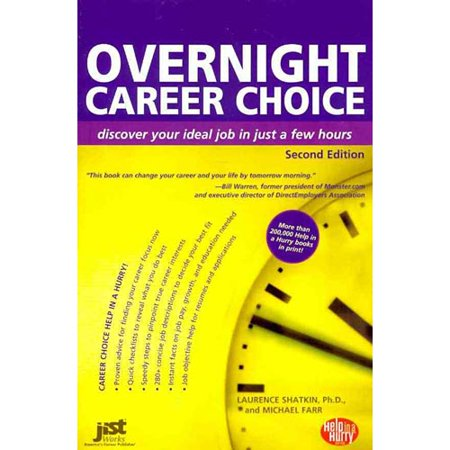 overnight career choice discover your ideal job in just a few hours