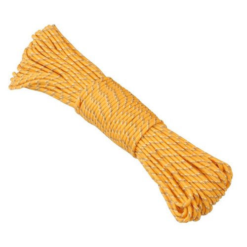 Ace Camp Glow-In-The-Dark Poly Rope, 3mm/20m