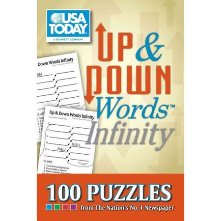 Usa Today Up   Down Words Infinity  100 Puzzles From The Nations No  1 Newspaper