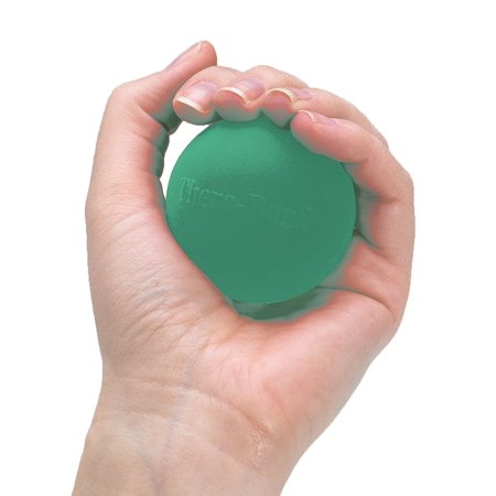 Hand Exerciser Squeeze Ball (Green - Medium, Standard), Unique soft feel Hand Exerciser ball for rehabbing and strengthening hands, and is.., By TheraBand