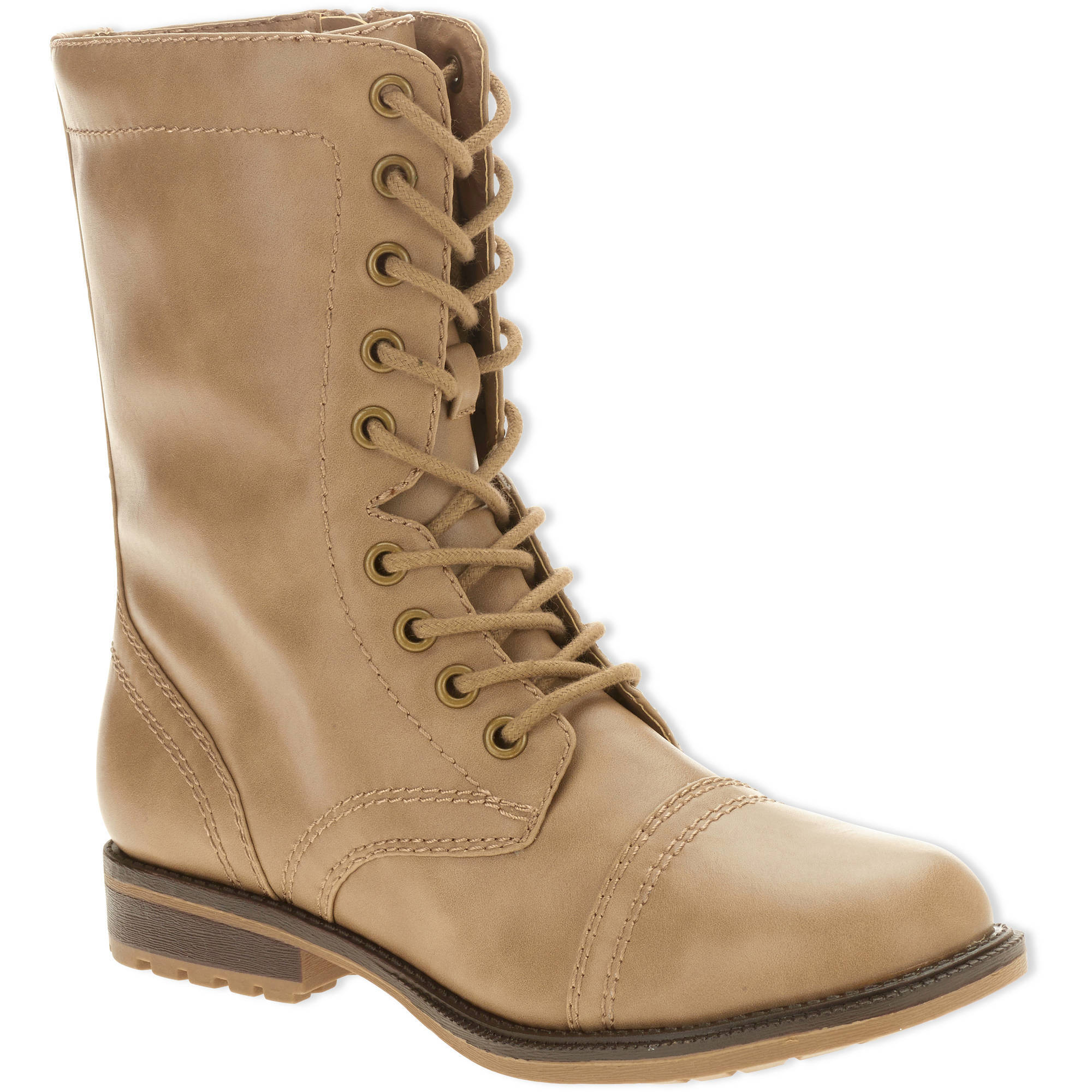 Faded Glory Women's Combat Boot by