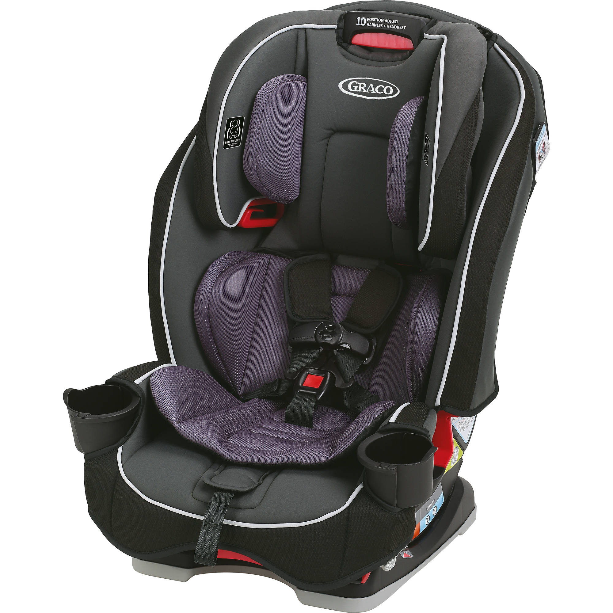 Graco SlimFit All-in-One Convertible Car Seat, Anabele
