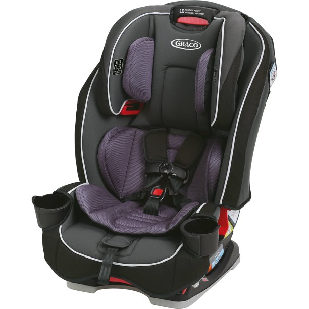 Graco Slimfit All In One Convertible Car Seat Annabelle Purple