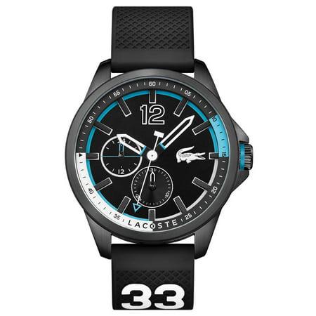 Capbreton Mens Multifunction Watch - Black Dial & Strap - 50m