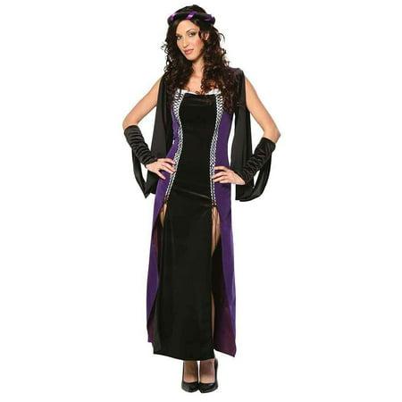 cinema secrets gth women's lady of shallot renaissance halloween costume small dress size 6-8
