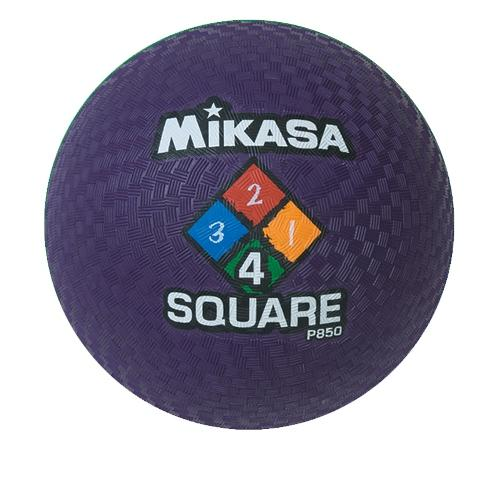 Playground Ball by Mikasa Sports - Four Square, Purple - 8.5''