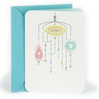 Hallmark Parent-to-Be Congratulations Greeting Card (Baby Mobile)