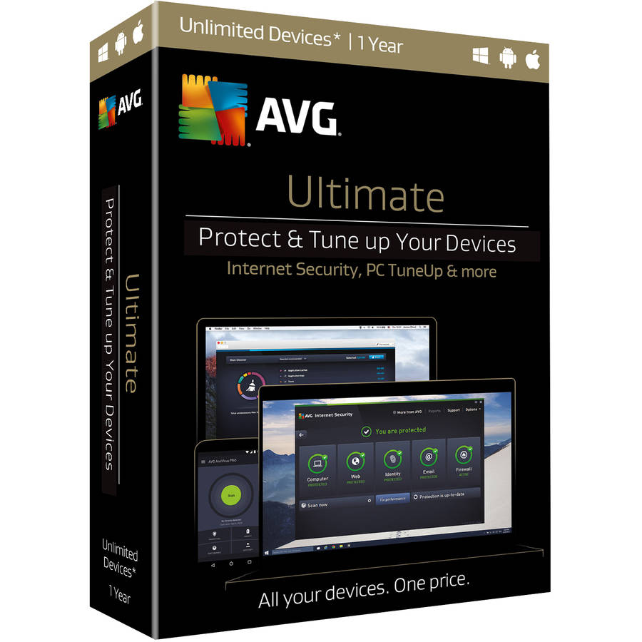 AVG Ultimate Bundle, 1 Year