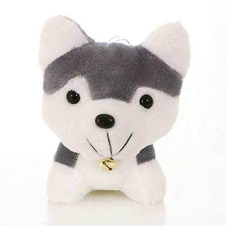 Toy for KIds Siberian Husky Super Cute Plush Toy Simulation Dog Model Toy Kids Appease Doll - image 1 de 5