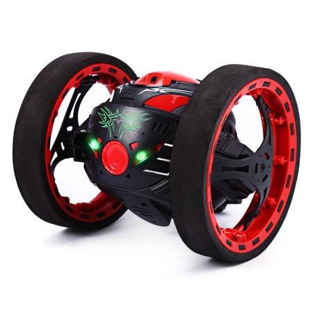 GBlife 2.4GHz Wireless Remote Control Jumping RC Toy Cars Bounce Car No WIFI for Kids (Black) ()