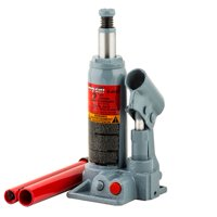 Pro-lift b-002d grey hydraulic bottle jack, 2 ton capacity