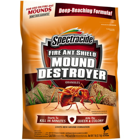 Spectracide Fire Ant Shield Mound Destroyer Granules, 7-lb ()