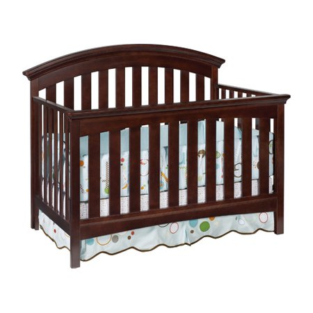 Delta Children Bentley 4-in-1 Convertible Crib Choocolate
