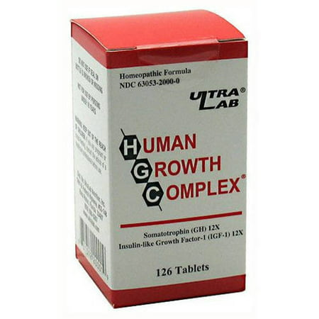 UltraLab Human Growth Complex, 126 CT ()
