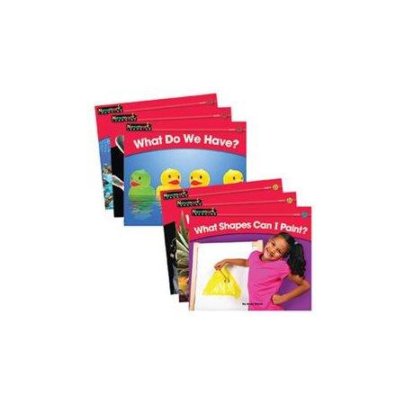 Newmark Learning NL-0523 Rising Readers Leveled Books Math Set 24 Titles