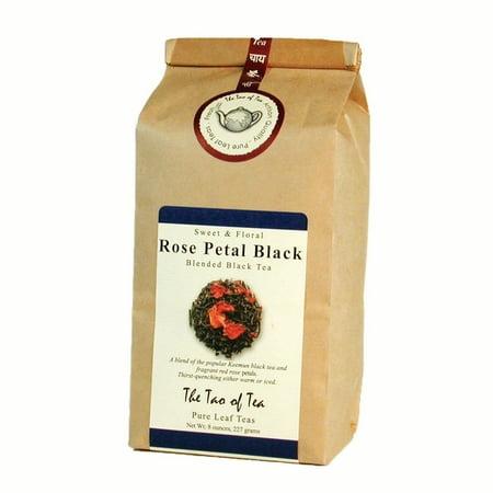 Hybrid Tea Rose (The Tao of Tea, Rose Petal Black Tea, Loose Leaf Tea, 8 Oz Tin Tie Bag )