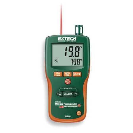 EXTECH Combination Pin Pinless Moisture Meter MO290 by Extech