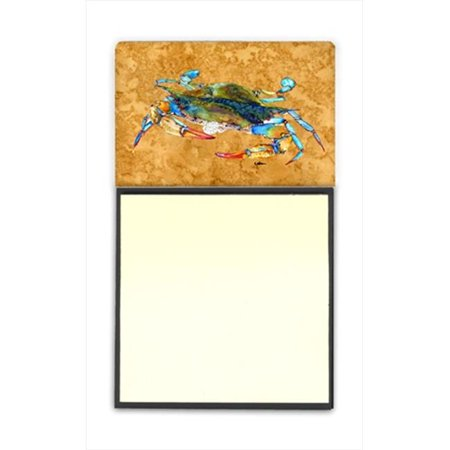 Carolines Treasures 8655SN Crab Refiillable Sticky Note Holder or Postit Note Dispenser, 3 x 3 In. - image 1 of 1