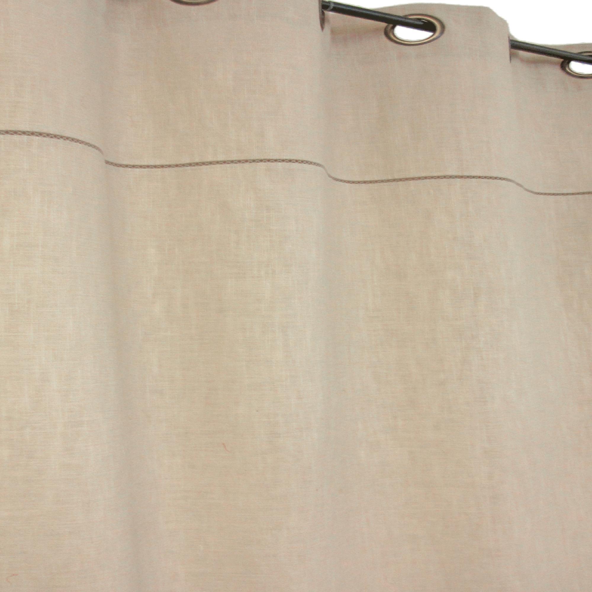 Echo YORK WINDOW GROMMET PANEL - OPTICAL WHITE